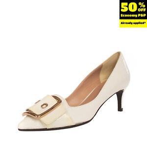 RRP €150 NICOLE BONNET PARIS Leather Court Shoes EU 35 UK 2 US 5 Made in Italy
