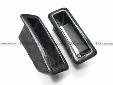 Front Bumper Vents Duct Air Duct 2pcs Carbon Fiber For Nissan R33 GTR Nism N1