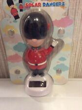 Solar Power Swing Dancing Toy British Guard For Home Car Decor Gift