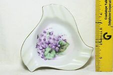 1955 Vintage Hand Painted Porcelain Ashtray