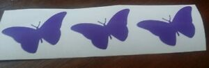 15 Purple butterflies Vinyl  wall art / nursery decor/ Decal/Stickers
