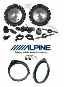 Alpine SXE-1750S Set 4 Arcas X Fiat 500X/L Brkt / Conn Altavoces Coche Ant /