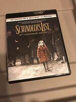 Schindler's List: 25th Anniversary (4K Ultra HD & Blu-ray) MINT CONDITION!!