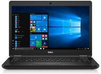 """Dell E5480 ULTRABOOK Laptop i5 6440HQ 2.6G 16Gb DDR4 256GB 14"""" FULL HD IPS WIn10"""