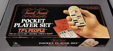 Trivial Pursuit TP's People History Pocket Player Travel Edition