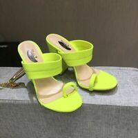 Womens High Heels Summer Slipper Sandals Open Toe Slip On Flip Flop Casual Shoes