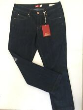 JAG Mid Rise, Turn Up Crop Denim Jeans - Size 10 - Brand New With Tag