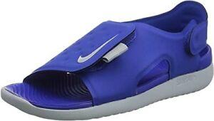 Nike Sunray Adj 5 Blue/Gray Toddler size 7C