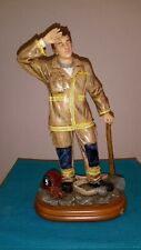 """Vanmark Red Hats Of Courage Figurine  """"End Of Shift""""   (C)"""