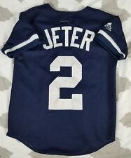 Derek Jeter New York Yankees Kids Majestic Authentic Baseball Jersey GS Boys