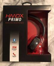 HMDX PRIMO WIRELESS HEADPHONES  Bluetooth Red On Ear
