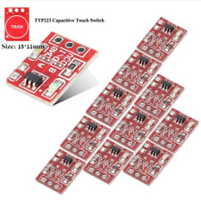 10pc TTP223 Capacitive Touch Switch Button Self-Lock Module