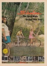"1970 Schwinn Collegiate Sport & Breeze Bicycle photo ""Best Ride"" promo print ad"
