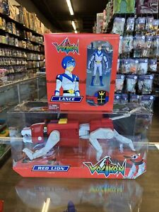 MATTEL MATTY COLLECTOR CLUB EXCLUSIVE VOLTRON RED LION LANCE TRANSFORMING FIGURE