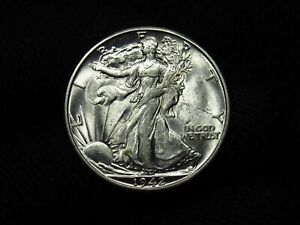 1942-D Liberty Walking Half Dollar NICE BU