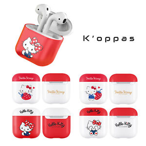 Official Sanrio Hello Kitty Solid AirPod Earphone Case Cover 100% Authentic