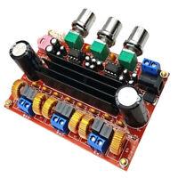 High Power 2x50W+100W AMP Board Digital Amplifier Module 2.1 Channels