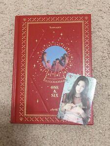 Apink 7th Mini Album - [ONE & SIX] SIX Ver. EUNJI CD + CHORONG Photocard