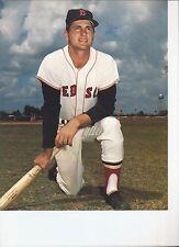 8 1/2 x 11 Glossy Photo Carl Yastrzemski Boston Red Sox {143}