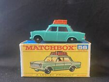Lesney Matchbox #56 Fiat 1500 Mint NEW Condition W/ Original Box