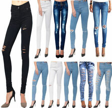 Jeans da donna in denim stonewashed
