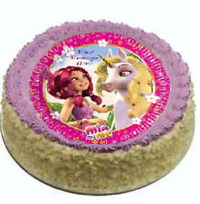 Mia and Me Cake topper edible image icing party REAL FONDANT 785