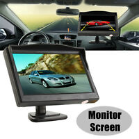 "5"" Color TFT LCD HD Car Rearview Monitor Screen Reverse Backup Parking Camera AU"