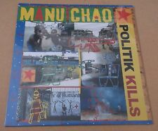 "MANU CHAO Politik Kills French 6-trk vinyl 12"" SEALED Dennis Bovell Prince Fatty"