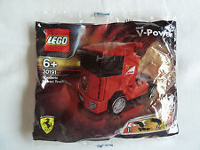 LEGO 30191 Scuderia Ferrari Truck Shell V Power Promo EU/UK Edition New UK Stock