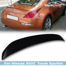 STOCK IN USA ▶ Unpainted For Nissan 350Z Z33 Coupe OE-Style Rear Trunk Spoiler