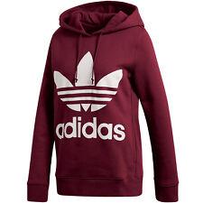 Adidas Trefoil hoodie Felpa Donna Rosso 46 (d0d)