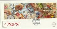 28 JANUARY 1992 GREETINGS COTSWOLD FIRST DAY COVER WHIMSEY GLOS SHS