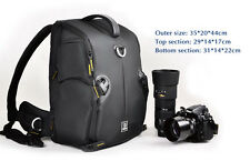 "New Professional Waterproof DSLR Camera Backpack 15.4"" Laptop Bag Padded Daypack"