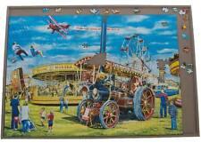 Jigsaw Puzzle Board Portable Strong Tray Mat 1000 Piece Jigboard Storage New