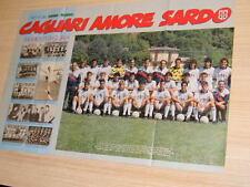 Q25 Poster Cagliari amore sardo retro il Napoli Campione d'Italia