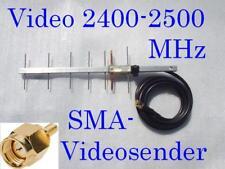 2,4 GHz FPV, vidéo, yagi antenne sma Connecteur Câble 0,5 M
