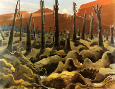 Paul Nash Making a New World 1960s ready mounted vintage print SUPERB