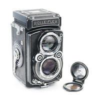 Rolleiflex 2.8 A TLR Camera w/ Zeiss Opton Tessar 80mm f/2.8 T