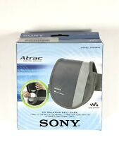 Sony Walkman Discman Belt Case CDCASE3 CD Vintage Altrac NOS
