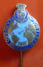 PORTO, PORTUGAL - WORLD FOOTBALL CLUBS CHAMPION 1987 NICE ENAMEL PIN