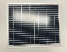 12v 10w Solar Panel Battery Charger Power Charging Caravan Camping KIT