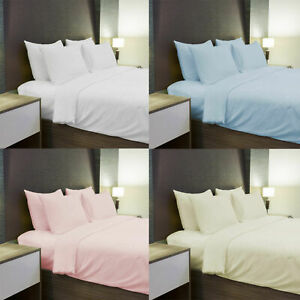 400 THREAD 100% Egyptian Cotton Single Double King Super King DUVET QUILT COVERS