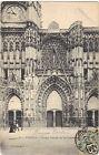 10 - cpa - TROYES - Le grand portail de la cathédrale (H8667)