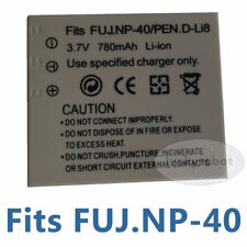 Battery for D-LI8 Pentax Optio A10 T10 S4 S6 S5 A30 Fuji FinePix Z3 V10 F700
