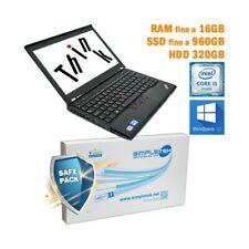 "COMPUTER NOTEBOOK LENOVO THINKPAD X230 I5 3210M 12,5"" WEBCAM WINDOWS 10 PRO-"