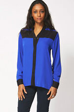 Hip Length Polyester Collared Tops & Shirts NEXT for Women