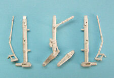 SAC 1/48 White Metal LANDING GEAR for TRUMPETER MIG-21