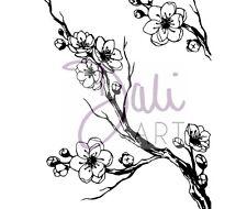 Daliart a6 chiaro Francobolli Cherry Blossom FRANCOBOLLI dlcsa 6026