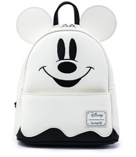 Loungefly Ghost Mickey Mini Backpack Disney Halloween Glows In Dark - IN HAND