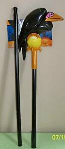 """DISNEY CLASSIC MALEFICENT 48"""" STAFF WITH CROW PERCHED COSTUME PROP DG18281"""